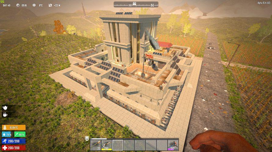 [ 7DTD a16 ] 「理想の家を建ててみる」企画開始